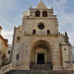 Antigua catedral de Elvas en Alentejo Portugal