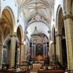 Interior de la antigua catedral de Elvas en Alentejo Portugal