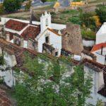 Vistas desde la muralla interior de Elvas en Alentejo Portugal