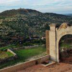 Vistas desde el castillo de Elvas en Alentejo Portugal