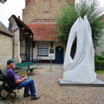 Museo Groeninge en Brujas en Flandes Bélgica
