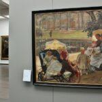 Pintura flamenca en museo Groeninge en Brujas