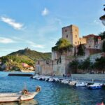 Puerto de Collioure en Perpiñán al sur de Francia
