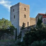 Castillo Real de Collioure en Perpiñán al sur de Francia