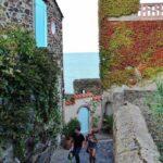 Rincón del casco histórico de Collioure en Perpiñán al sur de Francia