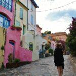 Camino del fauvismo en Collioure en Perpiñán al sur de Francia