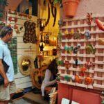 Tienda de souvenirs en Collioure en Perpiñán al sur de Francia