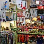 Tienda de complementos en Collioure en Perpiñán al sur de Francia