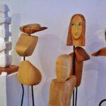 Galería de arte en Collioure en Perpiñán al sur de Francia