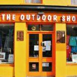 Tienda en Clifden en la ruta de la costa atlántica de Irlanda