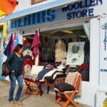Tienda de artesanía en lana en Clifden en Irlanda