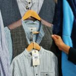 Tienda de ropa de lana en Clifden en Irlanda
