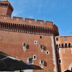 Castillet en el centro histórico de Perpiñán