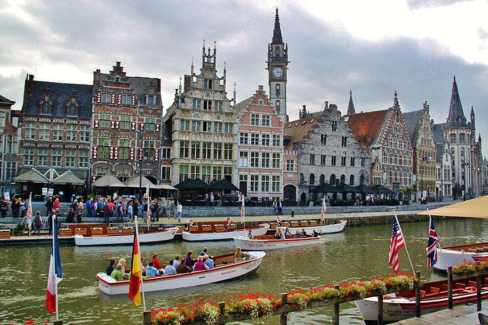 Bélgica – Paseo fotógrafico por la bella ciudad de Gante en Flandes