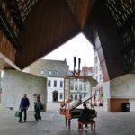 Piano en el Día de la Música en ell Pabellón Municipal de Gante