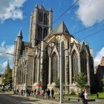 Catedral de San Bavón en Gante en Bélgica