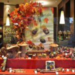 Tienda de chocolates en el centro medieval de Gante