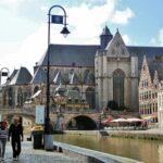 Iglesia de San Miguel el Gante en Bélgica