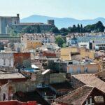 Vistas panorámicas de Perpiñán desde el Castillet