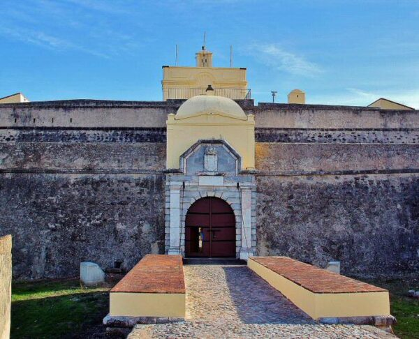 Fuerte de Santa Lucia en Elvas en Alentejo Portugal