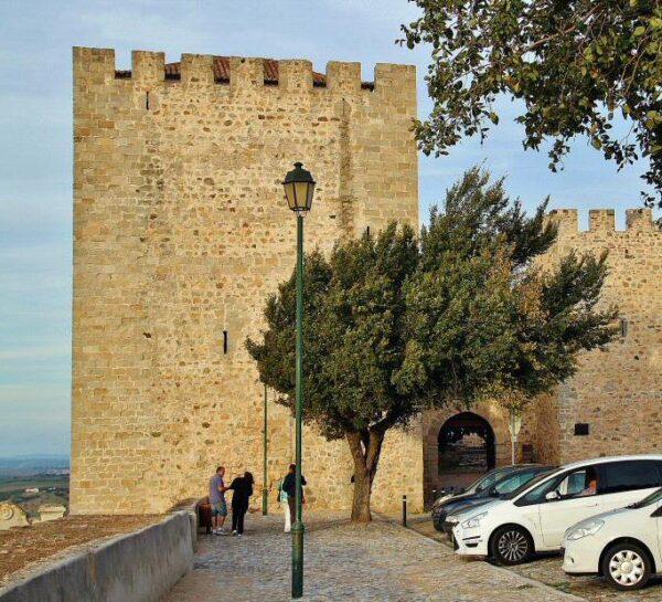 Castillo de Elvas en Alentejo en Portugal