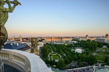 Heldenplatz en Ringstrasse de Viena © WienTourismus_Christian Stemper