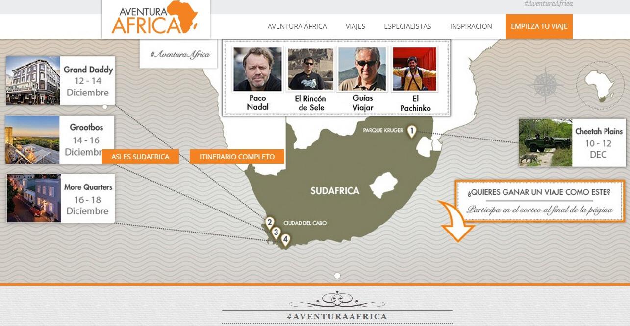 Viaje a Sudáfrica #AventuraAfrica