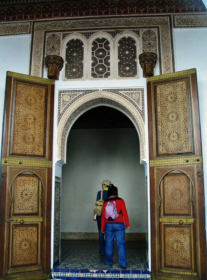 Marrakech palacio de la bah a gu as viajar - Casas marroquies ...