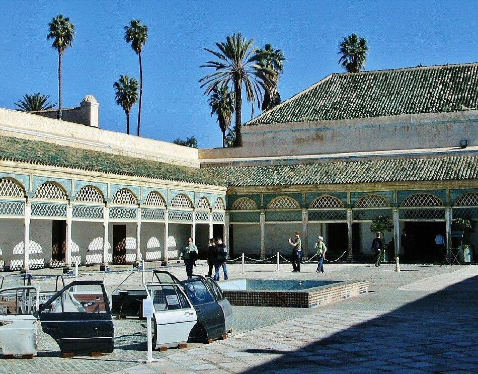 Marrakech palacio de la bah a gu as viajar for 9hab sala sidi moussa