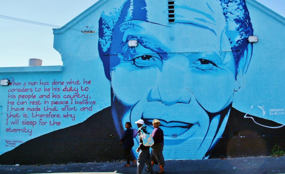 Homenaje a Mandela en Ciudad del Cabo