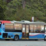 Autobús de línea al teleférico de Table Mountain en Ciudad del Cabo