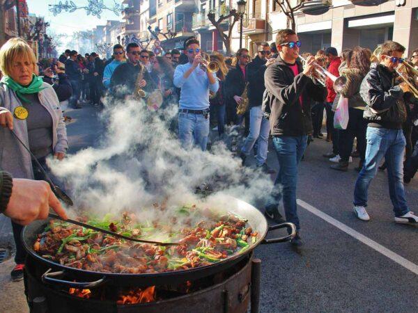 Día de las Paellas en Benicasim en Castellón