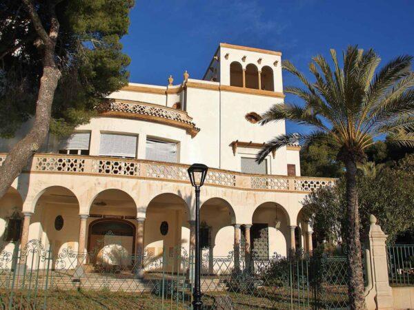 Villa Elisa en la Ruta de las Villas de Benicàssim en Castellón