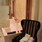 Baño de la Suite Arabe del hotel Alentejo Marmoris en Vila Vicosa