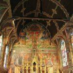 Decoración en la Basílica de la Santa Sangre en Brujas