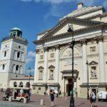 Iglesia de Santa Ana en la Ruta Real de Varsovia