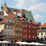 Rincón de la Ciudad Vieja de Varsovia