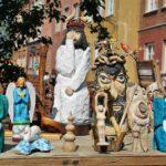 Souvenirs de artesanía en la Ciudad Vieja de Varsovia
