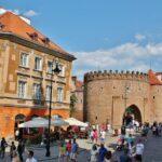 Barbacana en la Ciudad Vieja de Varsovia