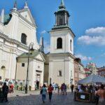 Iglesia de San Jacinto en la Ciudad Nueva de Varsovia