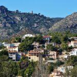 Vistas del parque del Desierto de Las Palmas desde Benicàssim