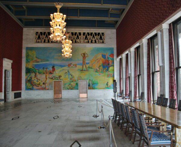 Salón de Banquetes del Ayuntamiento de Oslo