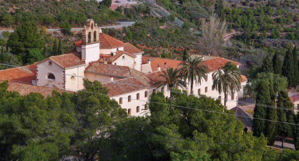 Monasterio carmelita del Desierto de Las Palmas cerca de Benicàssim