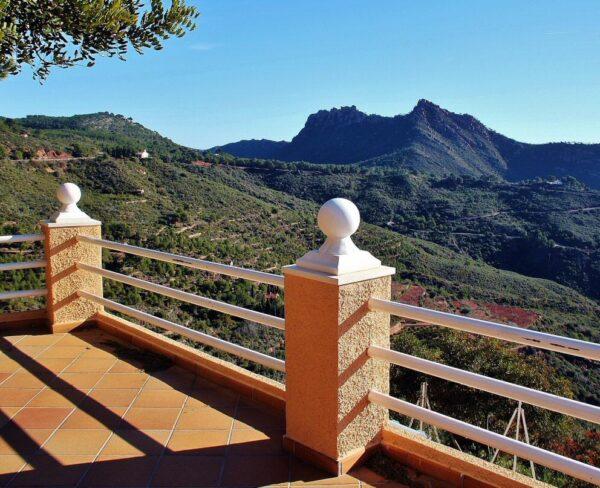 Mirador en el Desierto de Las Palmas cerca de Benicàssim