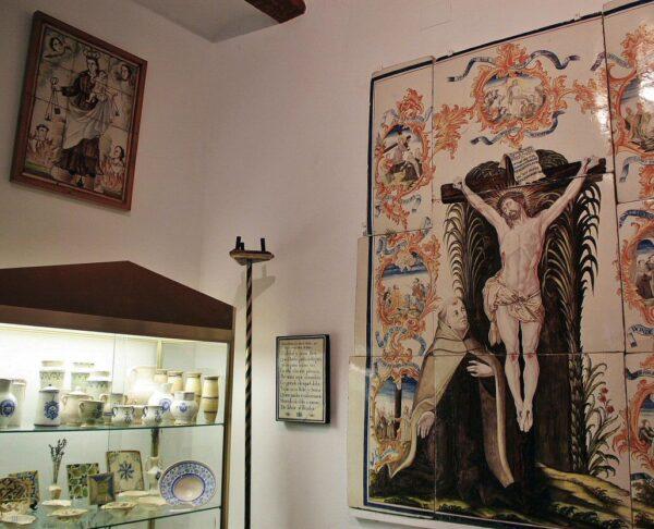 Museo del monasterio del Desierto de Las Palmas cerca de Benicàssim