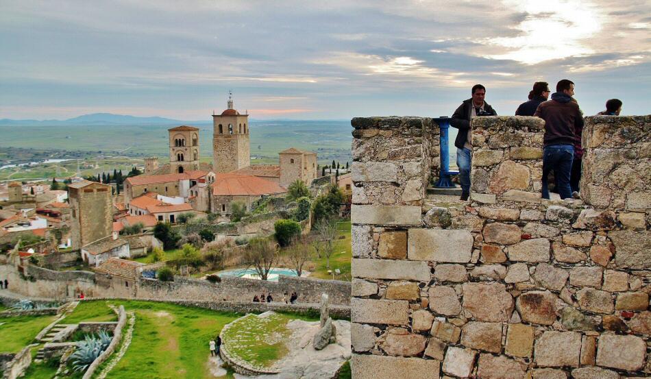 Castillo de Trujillo en Extremadura