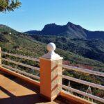 Vistas panorámicas desde el restaurante del Desierto de Las Palmas