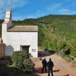 Puerta alta del monasterio carmelita del Desierto de Las Palmas