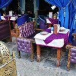 Restaurante en la plaza Uta el-Hammam en la medina de Chefchaouen
