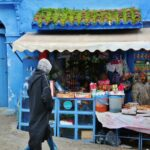 Rincón de la medina de Chefchaouen al norte de Marruecos